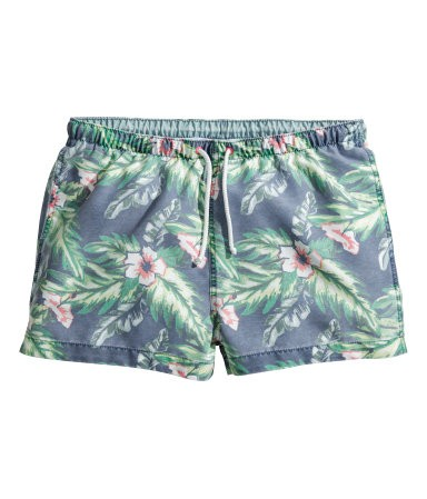 H&M Tropical Shorts